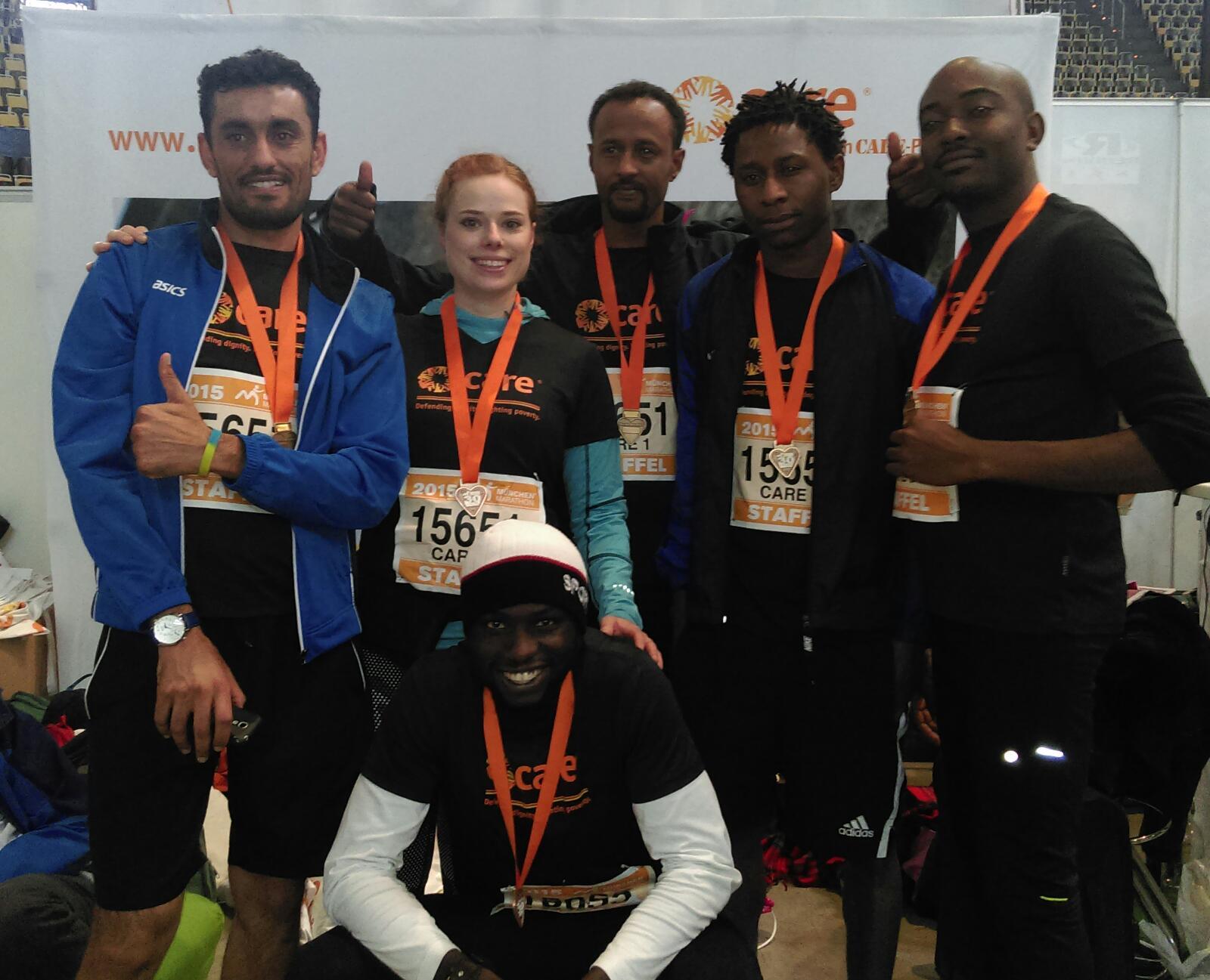 Marathon München - GU Dornach